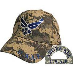 U.S. Air Force Symbol Camo Baseball Cap - Meach's Military Memorabilia & More