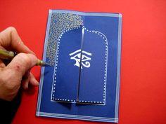 ACTIVITE - Carte d'invitation pour une fête indienne ou un embellissement pour son carnet de voyage, lapbook... DIY