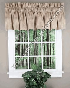 Santa Fe Stripe Valance By Park Designs Is A Popular Cotton Multi Medium  Scale Stripe. Featuring Red, Brown, Blue, And Neutral Colors.