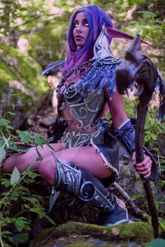 Wow Night Elf Cosplay by LauraCraftCosplay on DeviantArt