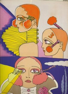 Antonio Lopez fashion illustration