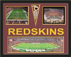 Washington Redskins FedEx Stadium Panoramic Framed With Different Views-Awesome & Beautiful-Must For Any Fan!