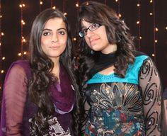 Minahil Raza(NBC Coordinator & A.P) and Shermin Shahab (Social Media Executive)
