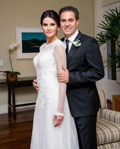Lisandra Souto se casa no Rio de Janeiro. Veja o lindo vestido de noiva!