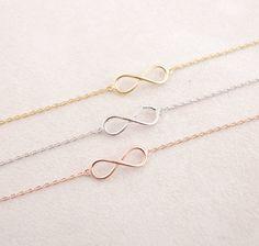 **Infinity Armband rosegold ♥ Freundschaft, Liebe, Treue** **Love yourself and your Eternity bracelet**. Dieses roségoldene Infinity Armband steht als Symbol der Unendlichkeit. Sei es in der...