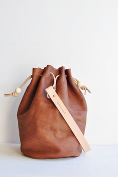 Wayfare Drawstring Bag | Redwood