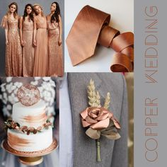 Your Wedding Flowers - Aspire Wedding Brown Wedding Themes, Gold Wedding Colors, Wedding Color Schemes, Wedding Ideas, Bronze Wedding Theme, Fall Wedding Inspiration, Wedding Color Palettes, February Wedding Colors, Copper Wedding Decor