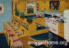 1950S Kitchen Design | Recent Photos The Commons Getty Collection Galleries World Map App ...