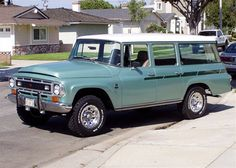1968 International Travelall My dream car! Ahhhhhhhh!