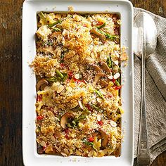 The Ultimate Chicken and Noodle Casserole From Better Homes and Gardens, ideas and improvement projects for your home and garden plus recipes and entertaining ideas.