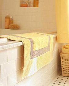 Bathroom upkeep tips from Martha Stewart