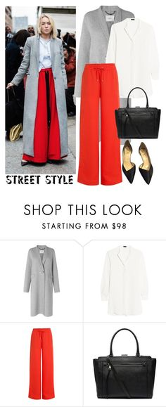 """""""Untitled #2896"""" by elenaday ❤ liked on Polyvore featuring L.K.Bennett, Joseph, T By Alexander Wang, Witchery, Christian Louboutin, NYFW and polyorenyfw"""
