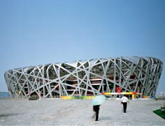 DLW Linoleum Referenzen - Nationalstadion in Peking - Armstrong