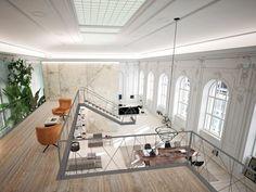 Wohnung in 1. Bezirk - Visualisierung Galerieebene
