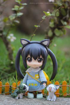 Azusa Nakano nendoroid figure photo by Sheng Gonzales