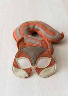 Red squirrel dress up toy for toddlers and children of all ages.