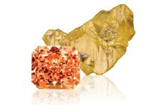 Fancy orange diamonds generally have secondary colors or overtones of yellow, brown, pink or red, making pure orange diamonds extremely rare and very expensive. Fancy orange diamonds owe their vibrant color to nitrogen being mixed with the carbon atoms during their formation, along with the precise nature of their carbon arrangement. They are frequently sought after and purchased for their investment value.