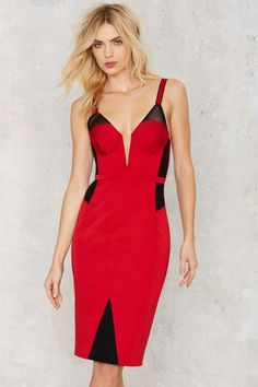 Nasty Gal Blow Me a Kiss Bodycon Dress - Clothes | Valentine's Day | Valentine's Day | Going Out | Body-Con | Dresses