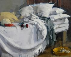 MAGGIE SINER - PAINTINGS. I can tell myself a story from looking at almost all of Maggie's paintings... Intriguing.
