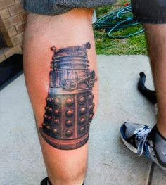 Dalek Tattoo.  http://thenerdfilter.com/2013/07/14/found-on-the-internerd-tattoos-part-2/