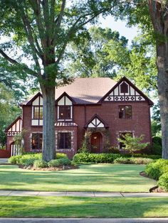 Stealable Curb Appeal Ideas from Tudor Revivals : Outdoors : Home & Garden Television