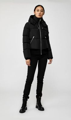 Mackage Aubrie Down Bomber With Removable Hood