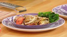Roast Pork Loin with Green Onion, Garlic  Herbs