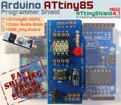Programming ATtiny13a Using Arduino as ISP LinkedIn
