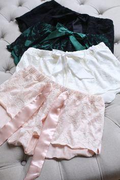 P2 Кружева Лурье Принцесса Сексуальные Удобные для Отдыха Брюки женские Пижамы Брюки Двойной Слой Ткани Темно Зеленый Розовый купить на AliExpress