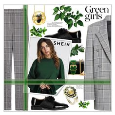 """""""Green girls"""" by giampourasjewel ❤ liked on Polyvore featuring Alexander Wang, Green Girls and Prada"""