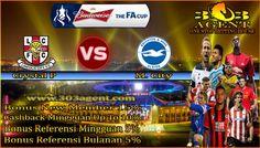Prediksi Jitu Lincoln City vs Brighton Hove Albion 28 Januari 2017