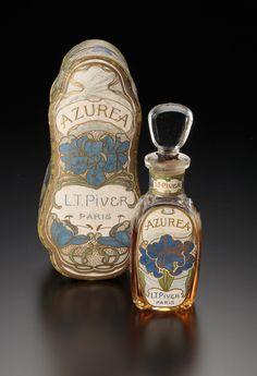 《アズレア》 1901年 ピヴェール社 海の見える杜美術館  - Perfume Bottle