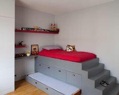 30 meilleures images du tableau lit sur estrade | Bedroom decor ...