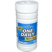 iherb vitamins, 21st Century Health Care, One Daily, Men's Health, 100 Tablets