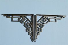 A PAIR OF STRIKING ART DECO CAST IRON SHELF BRACKETS SHELVING CISTERN BRACKET | Antiques, Architectural Antiques, Hooks/Brackets | eBay!