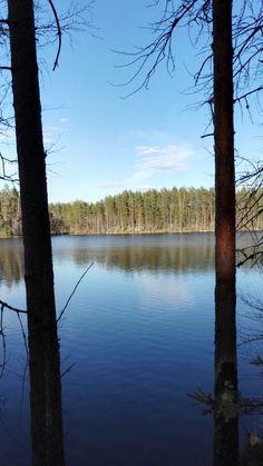 #järvi #metsä #sininen #lake #blue #forest #Finland