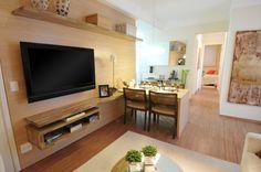 Decoração: salas pequenas de apartamento - Cores da Casa