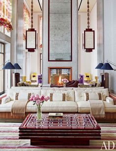 Things We Love: Mirrors Over Mantels - Design Chic