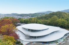 © Department of Art Science Japanese Architecture, Futuristic Architecture, Amazing Architecture, Art And Architecture, Roof Design, Exterior Design, New Africa, Africa News, Ryue Nishizawa