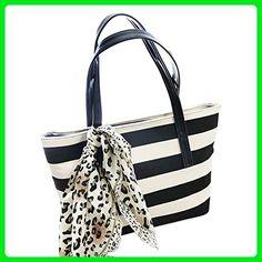 88ae248b94d5 Canvas Handbag Crossbody Messenger Magicub Shoulder Bag Satchel for Women  Tote Purse (BK)