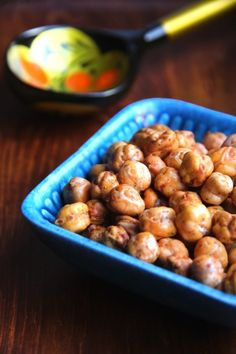 Roasted Chickpeas...great snack idea!