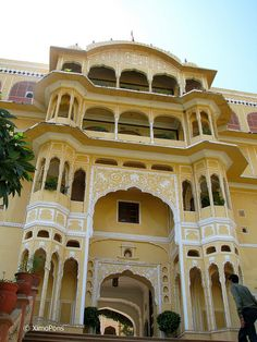 Indian architecture. Very beautiful.