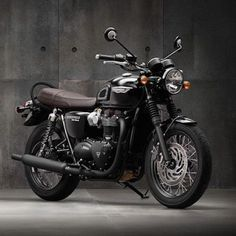 This is the news that we have been waiting for! Triumph have presented the next generation of Bonneville motorcycles! The new range has been built from ground up and includes the all-new and Black models, they are more powerful (feature a n Triumph Bonneville T120, Bonneville Motorcycle, Triumph Cafe Racer, Triumph Motorcycles, Cool Motorcycles, Cafe Racers, T120 Black, Scooters, Retro Motorcycle