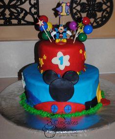 Emmett's 1st Birthday / Mickey Mouse Clubhouse Birthday Cake