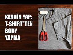 Kendin Yap: Erkek T-Shirt'ü ile Şık Body Yapma (DIY)