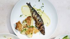 Grilled Sardines with Aioli Recipe | Bon Appetit