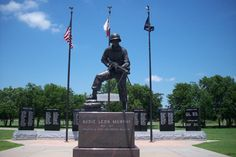 Hunt County War Memorial at the Audie Murphy / American Cotton Museum in Greenville, TX - Mary/ATA