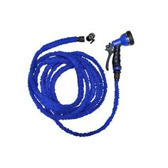 Retractable hose with plastic fittings will simplify all of your watering needs. #PlasticsInTheGarden