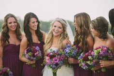 Katie_Lamb_Photography_ flat creek estate vineyard wedding #purple #eggplant #fuchsia