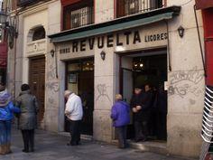 Situada en la calle de Latoneros 3. Uno de los mejores bacalao de Madrid